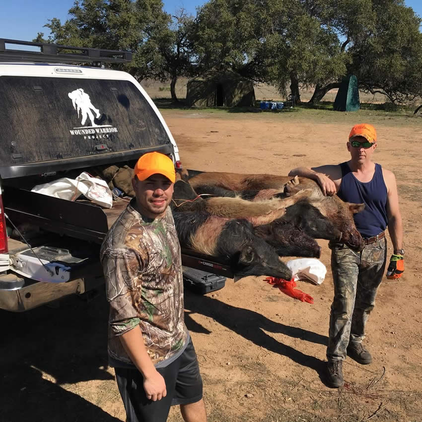 Integrity Roofing & Painting Hog hunting