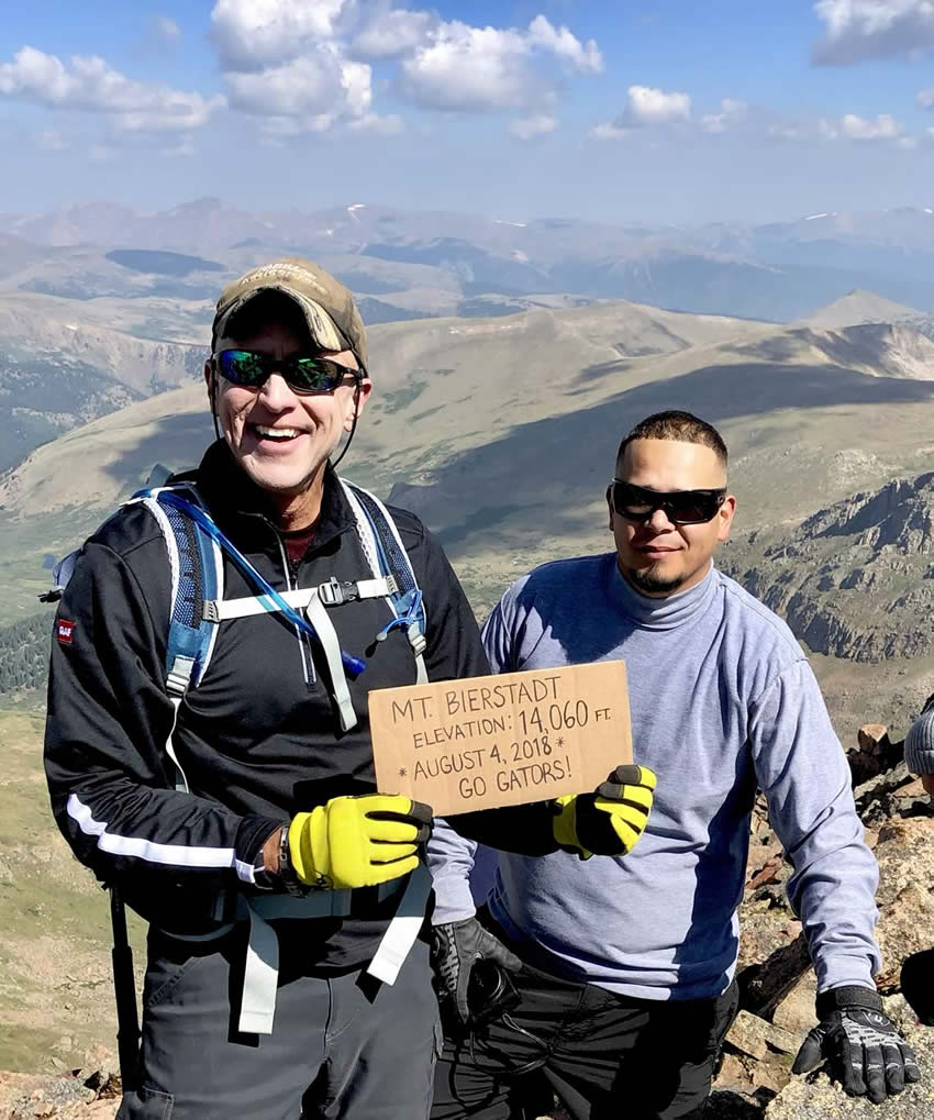 Integrity Roofing & Painting summit Mt. Bierstadt