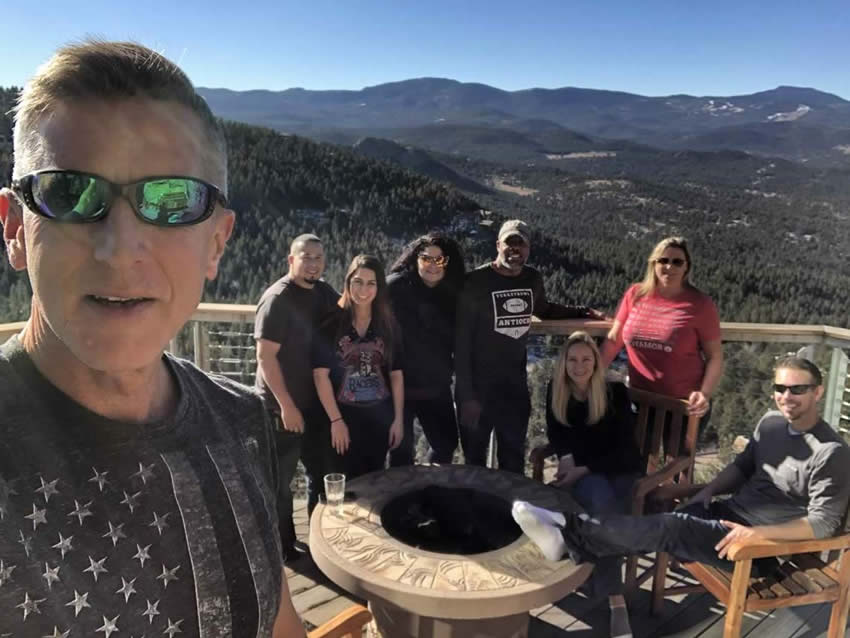 Integrity Roofing & Painting around the fire in Colorado