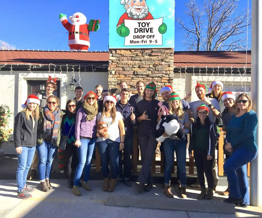 Integrity Roofing & Painting at the Christmas Toy Drive