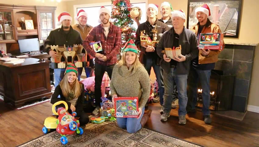 Integrity Roofing & Painting Christmas Toy Drive